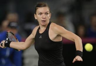 Avancronica meciului Simona Halep - Sloane Stephens, din sferturile de finala de la Miami