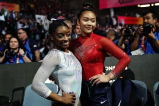 """Avem o nouă regină la gimnastică, după retragerea lui Simone Biles! Cine e """"intrusa"""" de pe podium"""
