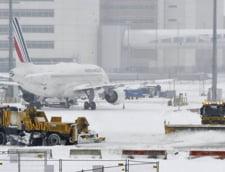 Avertisment MAE pentru calatoriile in Franta - zapezile afecteaza traficul aerian