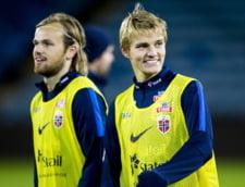 Avertisment pentru Romania! Pustiul teribil al Norvegiei, care apartine lui Real Madrid, a marcat un gol splendid in Olanda (Video)