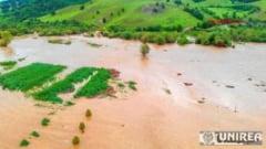 Avertizare hidrologica in ALBA: COD GALBEN de inundatii pe raul Aries si COD PORTOCALIU in bazinul raului Mures