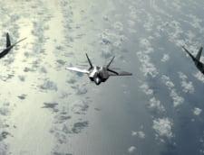Avioane de vanatoare americane F-22 au interceptat doua bombardiere strategice rusesti Tu-95MS in apropiere de Alaska