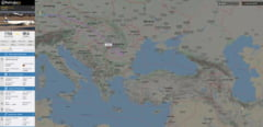 Avion doborat in Iran: Un zbor Lufthansa s-a intors din drum deasupra Romaniei