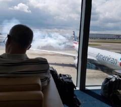 Avion evacuat pe un aeroport din Londra (Foto)