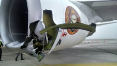 Avionul trupei Iron Maiden, avariat grav: Doua persoane au fost spitalizate (Foto)