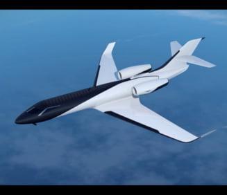 Avionul viitorului, fara ferestre: Tot interiorul un ecran panoramic uluitor (Video)