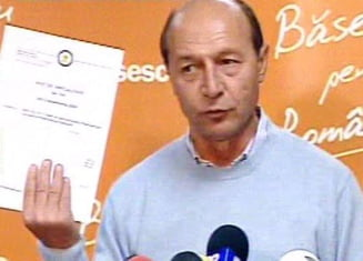 Avizul INEC: Filmul in care Traian Basescu ar fi lovit un copil este trucat