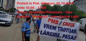 Azi e protest in Prelungirea Ghencea: Localnicii ameninta cu instanta