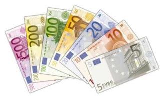 BCE: Sunt tot mai multe bancnote euro false pe piata