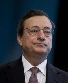BCE mentine dobanda de politica monetara - Ce a spus Draghi despre situatia din Italia