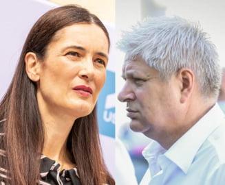 BEC: Scade diferenta dintre Clotilde Armand si Daniel Tudorache, dupa numararea a 95,55% dintre voturi
