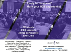 BILANT: In 2019, BusinessMark a organizat 60 de evenimente