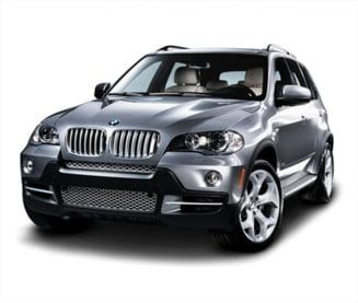 BMW X5 si Dacia Logan, cele mai furate masini din Romania