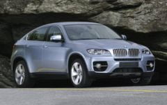 BMW X6 ActiveHybrid costa 103.350 de euro in Romania