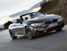 BMW lanseaza M4 Cabrio, o decapotabila de lux