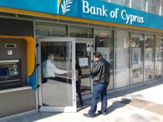 BNR confirma ca depozitele Bank of Cyprus Romania vor fi preluate de Marfin Bank