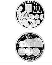 BNR pune in circulatie o moneda dedicata aniversarii Monetariei Statului