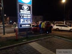 BRASOV. Accident langa magazinul Lidl! (FOTO EXCLUSIV)