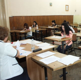 Bacalaureatul incepe luni, cu proba competentelor la limba romana - 135.655 de absolventi de liceu s-au inscris