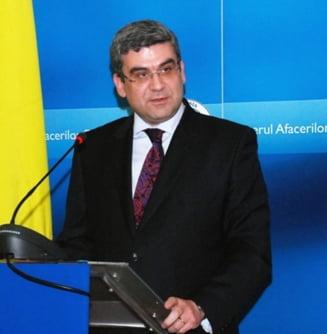 Baconschi: Basescu nu era genul meu si nu am fost servil fata de el