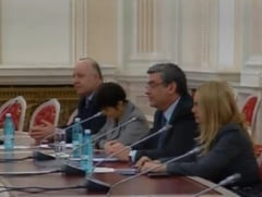 Baconschi, in Parlament: Premierul maghiar nu facea referiri iredentiste