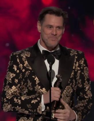 Bafta Britannia Awards: Discursul lui Jim Carrey despre capitalismul fara constiinta, primit cu ropote de aplauze (Video)