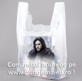 Bagvertising. Prin pungi de plastic, consumatorii finali promoveaza gratuit brandul tau