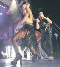 Balanca a dansat *Biniditat!* la Ploiesti   Andreea a facut un adevarat show