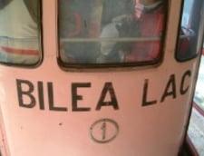 Balea Lac: O turista inghetata a fost salvata cu telecabina