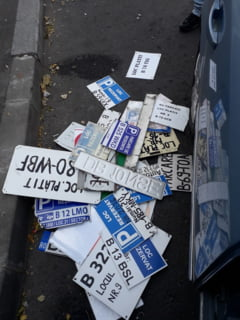 Baluta a declarat razboi placutelor pentru locurile de parcare. Nu e agreata de primarie? Ramai fara parcare!