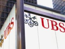Banca elvetiana UBS risca o amenda-record, de 5 miliarde de euro, pentru complicitate la frauda