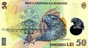 Bancnota de 50 de lei, cea mai falsificata