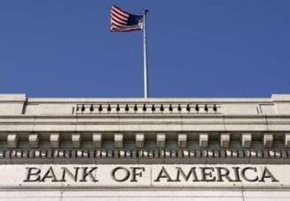 Bank of America mareste cu 70% salariile pe banii contribuabililor