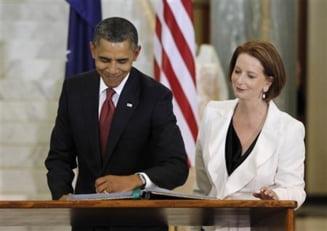Barack Obama: SUA isi consolideaza prezenta militara in Australia