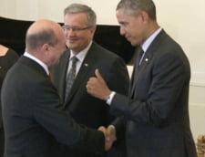 Barack Obama, catre Traian Basescu: Ce faci, prietene? (Video)