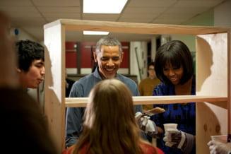Barack Obama, investit intr-o ceremonie modesta