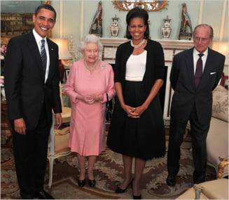 Barack Obama, invitat de regina Elisabeta a II-a in vizita de stat