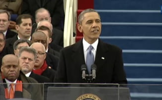 Barack Obama a depus juramantul: Un deceniu de razboi se termina acum (Video)