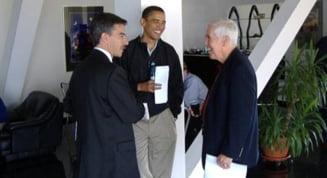 Barack Obama a stat o ora in Bucuresti, in 2005