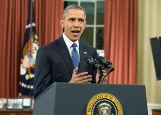 Barack Obama se vede victorios: Statul Islamic pierde teren si va fi distrus