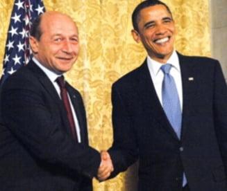 Barack Obama si Traian Basescu se intalnesc in Polonia (Video)