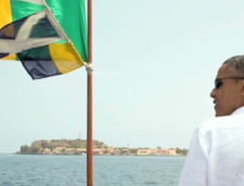 Barack Obama si-a incheiat vizita in Africa de Sud la inchisoare