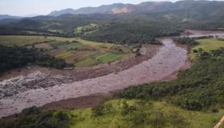 Baraj minier rupt in Brazilia: 40 de morti si 300 de disparuti UPDATE 24.000 de persoane au fost evacuate