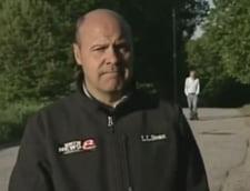 Barbat dat disparut, in spatele unui reporter care transmitea o stire despre el (Video)