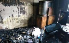 Barbat decedat in incendiu in Mehedinti