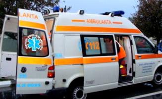 Barbat infectat cu COVID, mort in ambulanta, pe cand era transportat la Spitalul Judetean Suceava