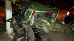 Barbat mort intr-un cumplit accident la Bals