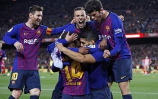 Barcelona, aproape campioana in Spania, dupa ce invinge in marele derbi pe Atletico Madrid