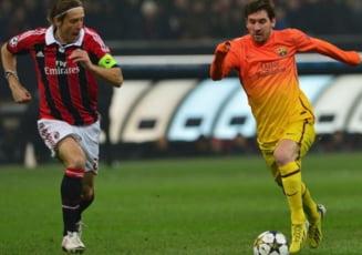 Barcelona, batuta de AC Milan in Liga Campionilor