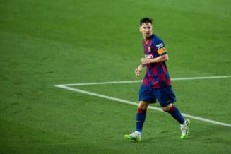 Barcelona, pas gresit in lupta pentru titlu. Messi a ajuns la 700 de goluri marcate